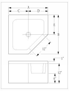Mop Sink Dimensions http://www.florestone.com/mop_sinks/model_95-96 ...