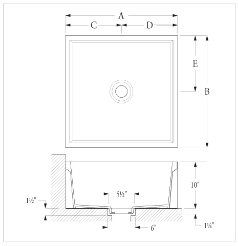 24x24 Mop Sink : NEW MOP SINK FLOOR SINK 24