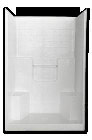 florestone model 48 3wtb fiberglass shower
