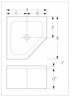 Florestone Mop Sinks Model 85 86 87 Neo Angle